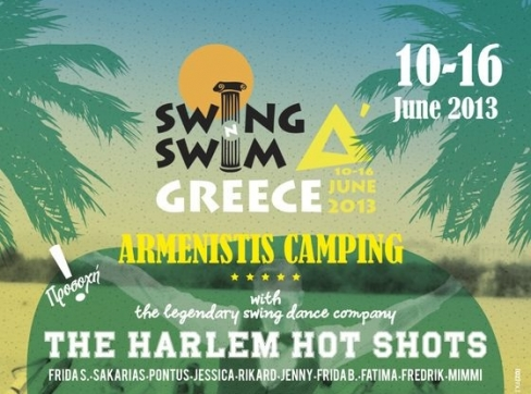 4o International Summer Swing Dance Camp 2013 «Swing and Swim Δ΄»