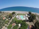 αεροφωτογραφία του χώρου αναψυχής και της παραλίας